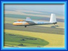 Полёты на планерах Л-13